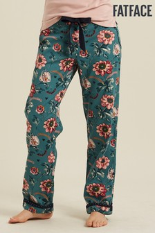 FatFace Green Tea Cup Floral Classic Lounge Pants