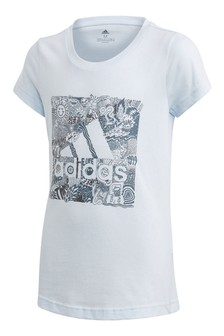 adidas Blue Box Graphic T-Shirt