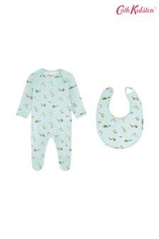 Cath Kidston® Mini Woodland Sleepsuit And Bib Set