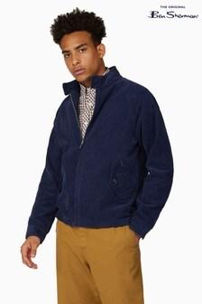 Ben Sherman Ink Cord Harrington Jacket