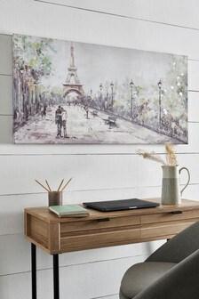 Paris Landscape Canvas