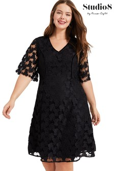 Studio 8 Black Lacey Dress