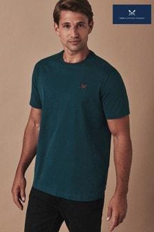Crew Clothing Green Crew Classic T-Shirt