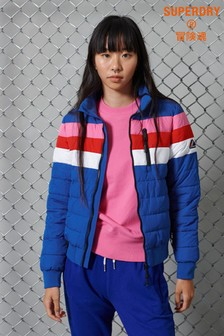 Superdry Colourblock Fuji Bomber Jacket