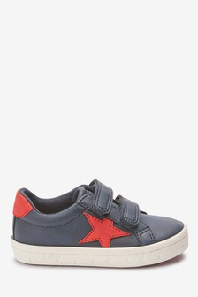 Double Strap Star Trainers (Younger)