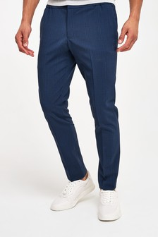 Seersucker Suit: Trousers