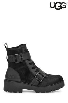 UGG Black Zorrah Lace-Up Boots