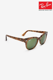 Ray-Ban® Havana Brown Meteor Sunglasses