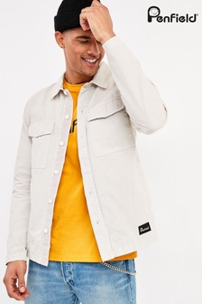 Penfield White Napier Overshirt