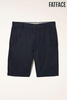 FatFace Linen Flat Front Shorts