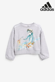adidas Little Kids Grey Disney™ Frozen Crew Top