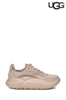 UGG® Taupe LA Cloud Low Lace Up Trainers