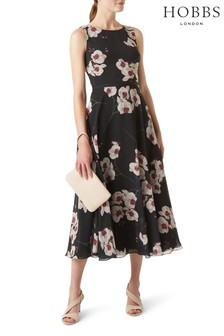 Hobbs Black Carly Dress