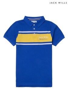 Jack Wills Boys Blue Poloshirt