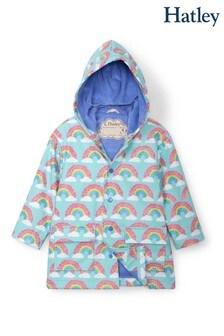 Hatley Blue Magical Rainbows Raincoat