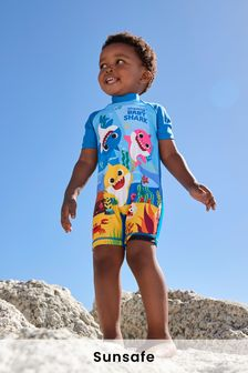 Baby Shark Sunsafe Swimsuit (3mths-7yrs)