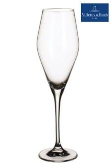 Set of 4 Villeroy and Boch La Divina Champagne Flutes