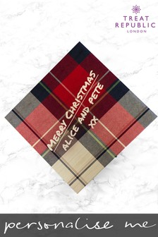 Personalised Tartan Christmas Box by Treat Republic