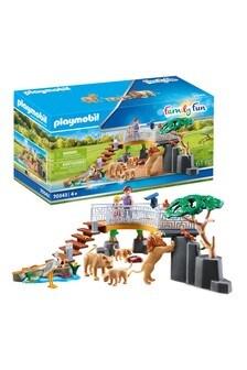 Playmobil 70343 Outdoor Lion Enclosure