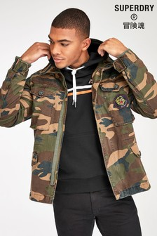 Superdry Camouflage Field Jacket
