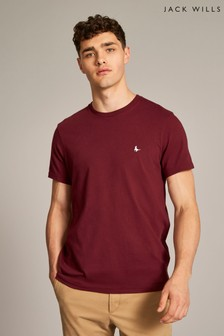 Jack Wills Damson Sandleford T-Shirt