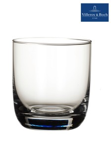 Set of 4 Villeroy and Boch La Divina Whiskey Tumbler Glasses
