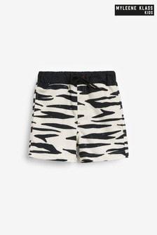 Myleene Klass Kids Zebra Swim Shorts