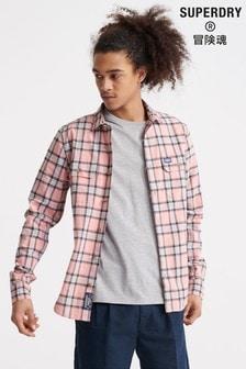 Superdry Merchant Milled Lite Long Sleeved Shirt