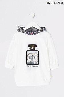 River Island Black Perfume Bottle Sweat Dress