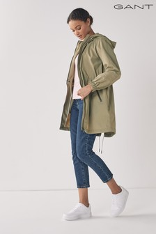 GANT Aloe Green Light Wind Parka Jacket