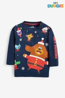 Christmas Hey Duggee Long Sleeve T-Shirt (6mths-8yrs)