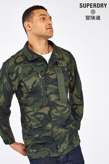 Superdry Camouflage Utility Field Jacket