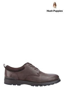 Hush Puppies Brown Dylan Lace Shoes