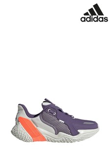 adidas Run Purple 4uture Runner Youth Trainers