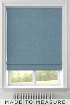 Craven Aqua Green Made To Measure Roman Blind