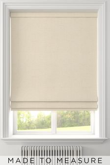 Craven Sand Natural Made To Measure Roman Blind