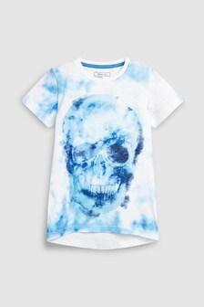 Tie Dye Skull T-Shirt (3-16yrs)