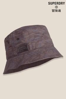 Superdry Black Bucket Hat
