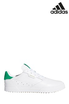 adidas Golf White Adicross Retro Trainers