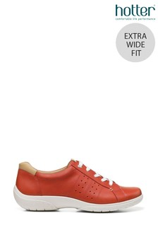 Hotter Fearne II Extra Wide Fit Lace Up Flat Shoes