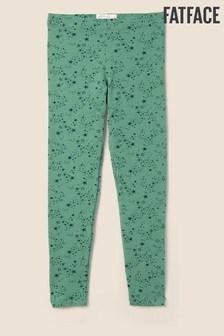 FatFace Green Star Print Leggings