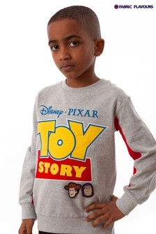 Fabric Flavours Grey Disney™ Toy Story Badgeable Sweatshirt