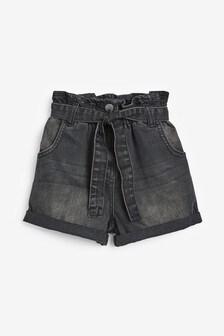 Paperbag Waist Shorts (3-16yrs)