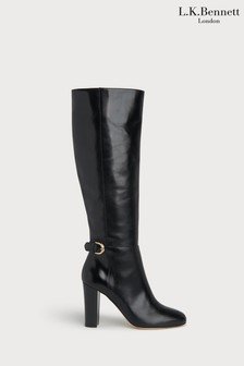 L.K.Bennett Brooklyn Calf Leather Knee Boots