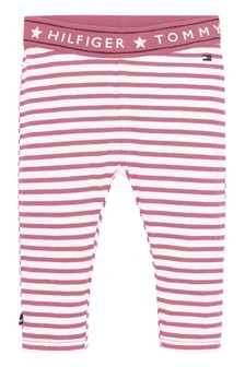 Tommy Hilfiger Pink Baby Tommy Leggings