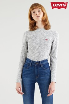 Levi's® Grey Ri Crew Knit Jumper
