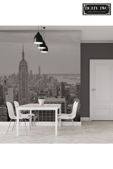 Eighty Two Manhattan Skyline Wall Mural