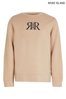 River Island Beige Light Raglan Sweater