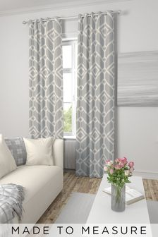 Lattice Geo Made To Measure Curtains