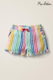 Boden Multi Frill Hem Shorts
